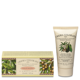 Crema Colorata MACADAMIA e AVOCADO - tonalità MANDORLA N°1 50 ml