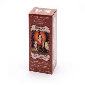 Crema colorante CASTANO CHIARO CENERE (Chatain clair cendre) Flacone da 90 ml