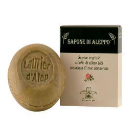 Saponetta di ALEPPO Rosa di Damasco tonda 100 g